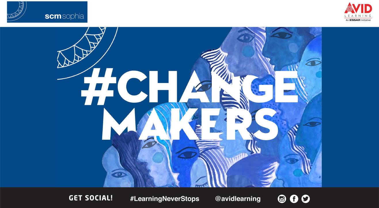 #ChangeMakers: Celebrating 50 years of SCMSophia in Arts and Media