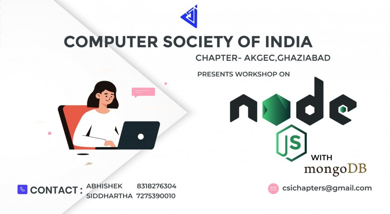 Workshop on Nodejs with MongoDB