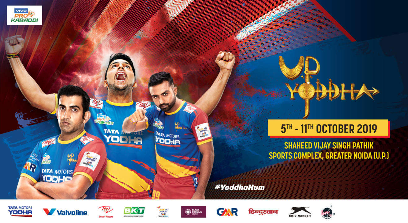 VIVO Pro Kabaddi 2019: U.P. Yoddha Tickets, schedule, squad & more!