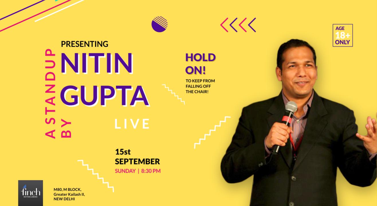 Standup Comedy By Nitin Gupta