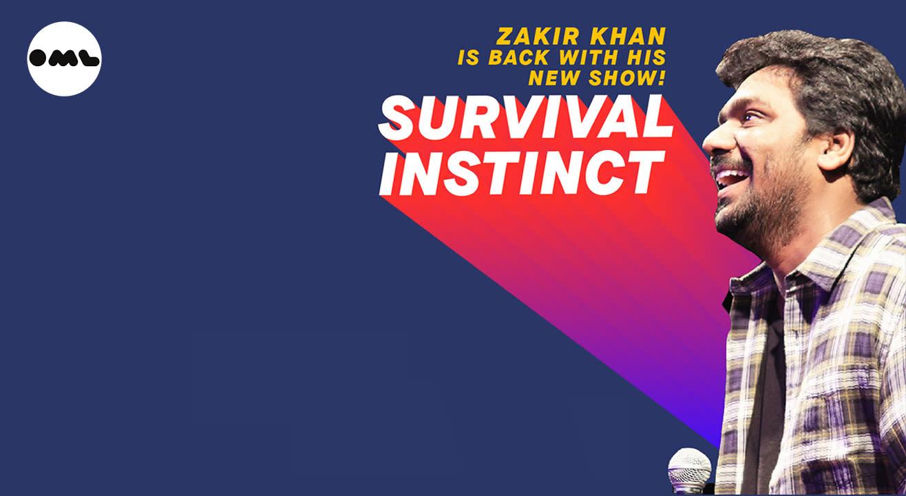 Survival Instinct by Zakir Khan   Kanpur