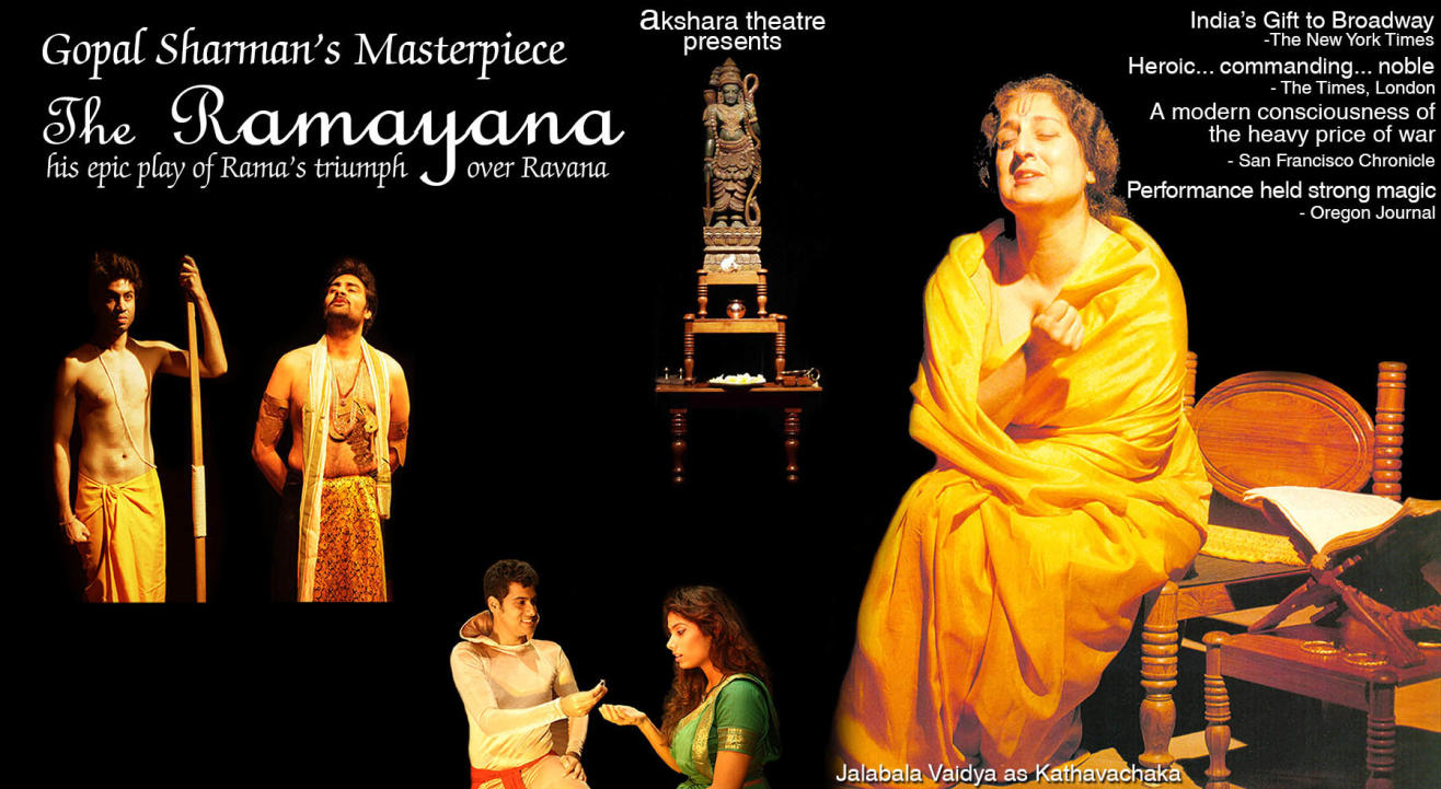 Akshara Theatre's THE RAMAYANA