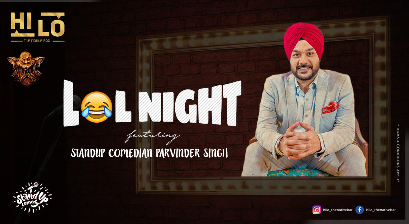 LOL Night Ft. Parvinder Singh