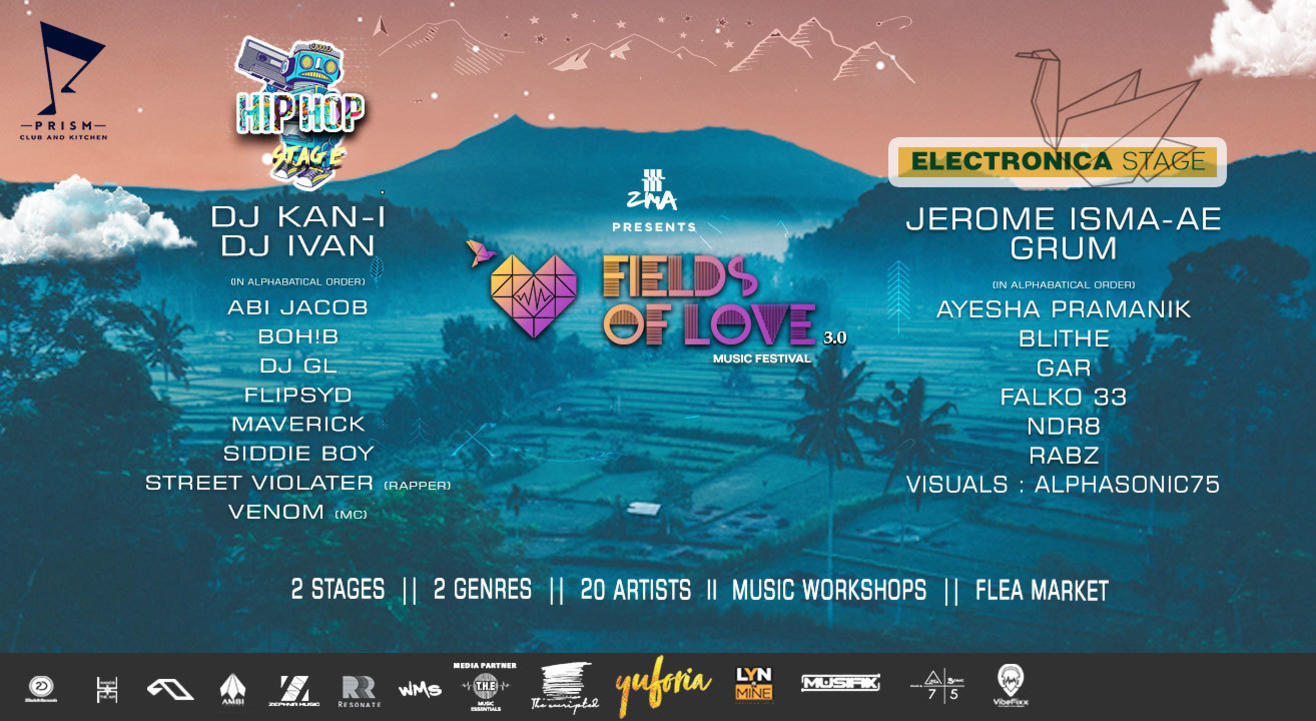 ZMA presents Fields Of Love Music Festival 3.0
