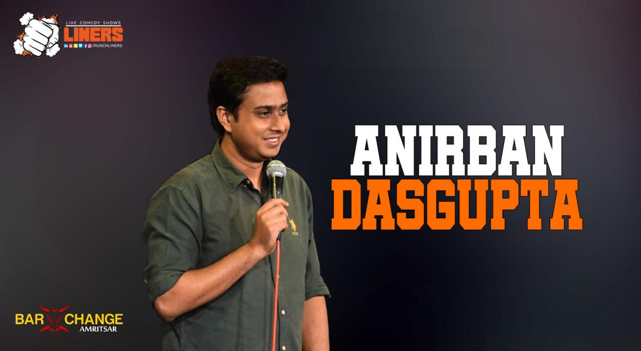 Punchliners Standup Comedy Show ft Anirban Dasgupta | Amritsar
