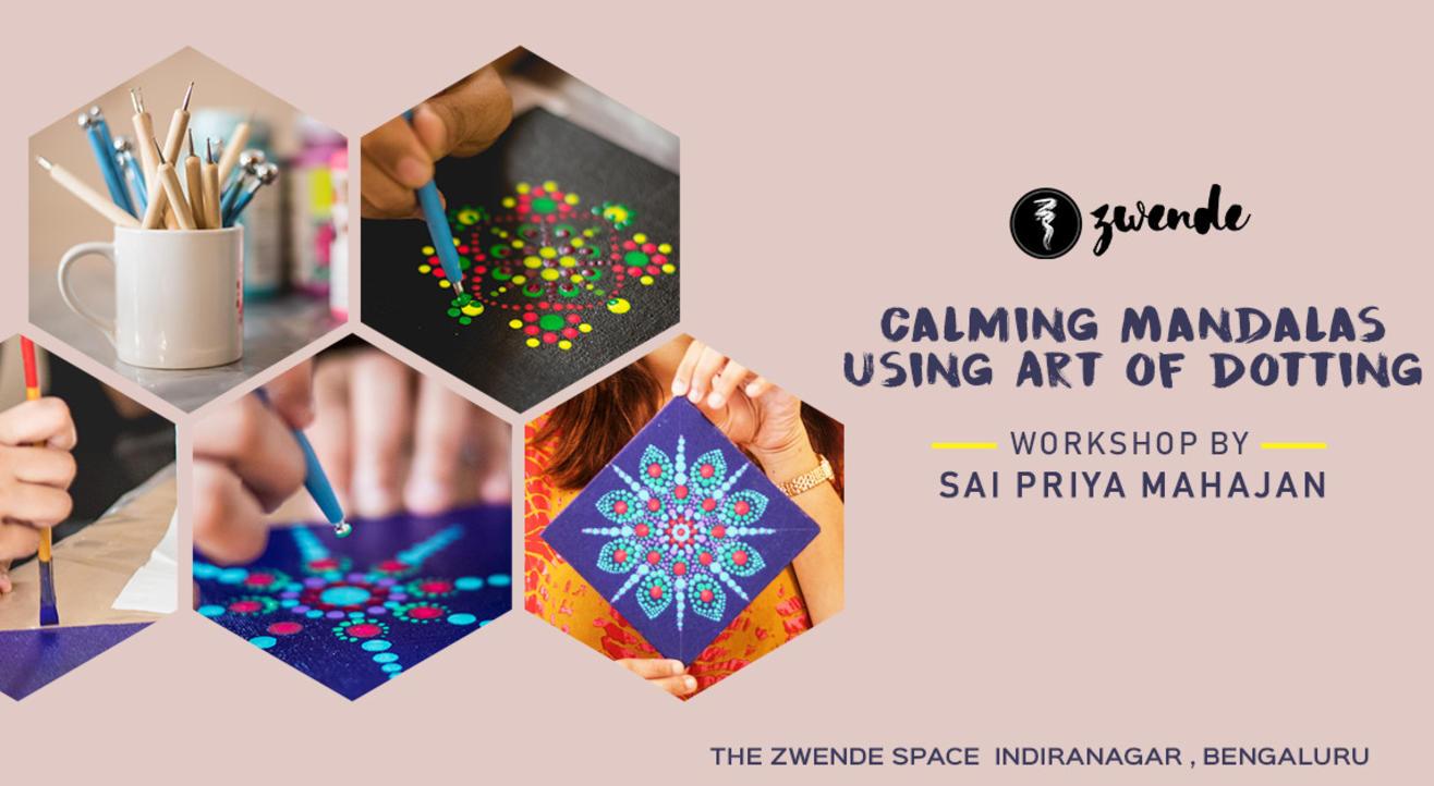 Calming Mandalas using Art of Dotting