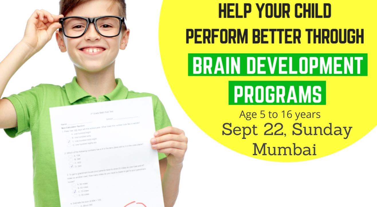 Genius Kids  Brain Development Workshop for kids aged 5 to 16 years