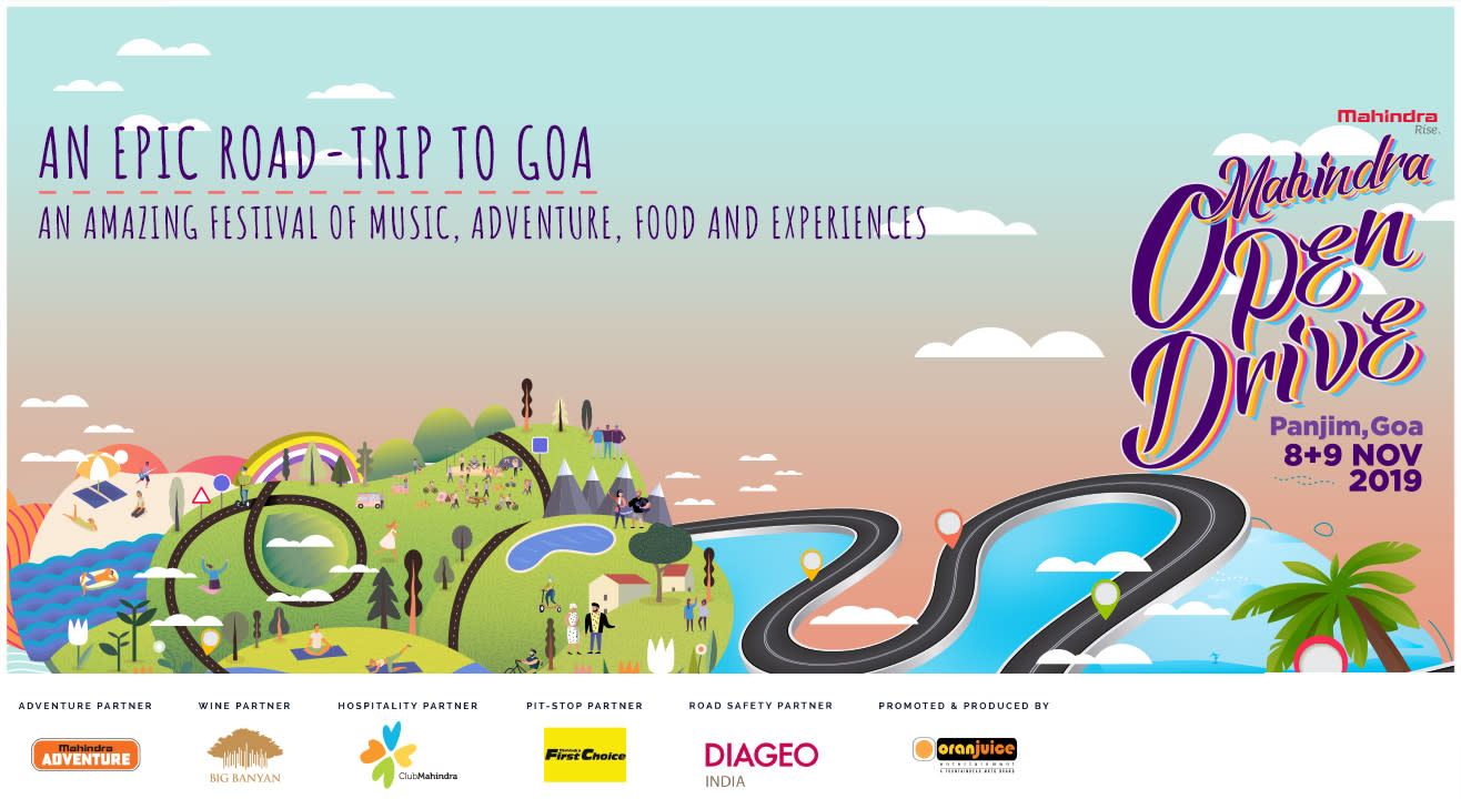 Mahindra Open Drive - A Festival of Music, Food, Adventure and Experiences!