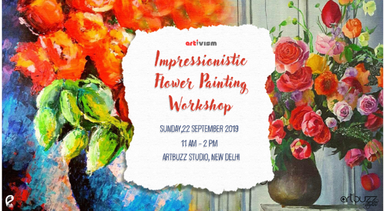 Impressionistic Flower Painting Workshop