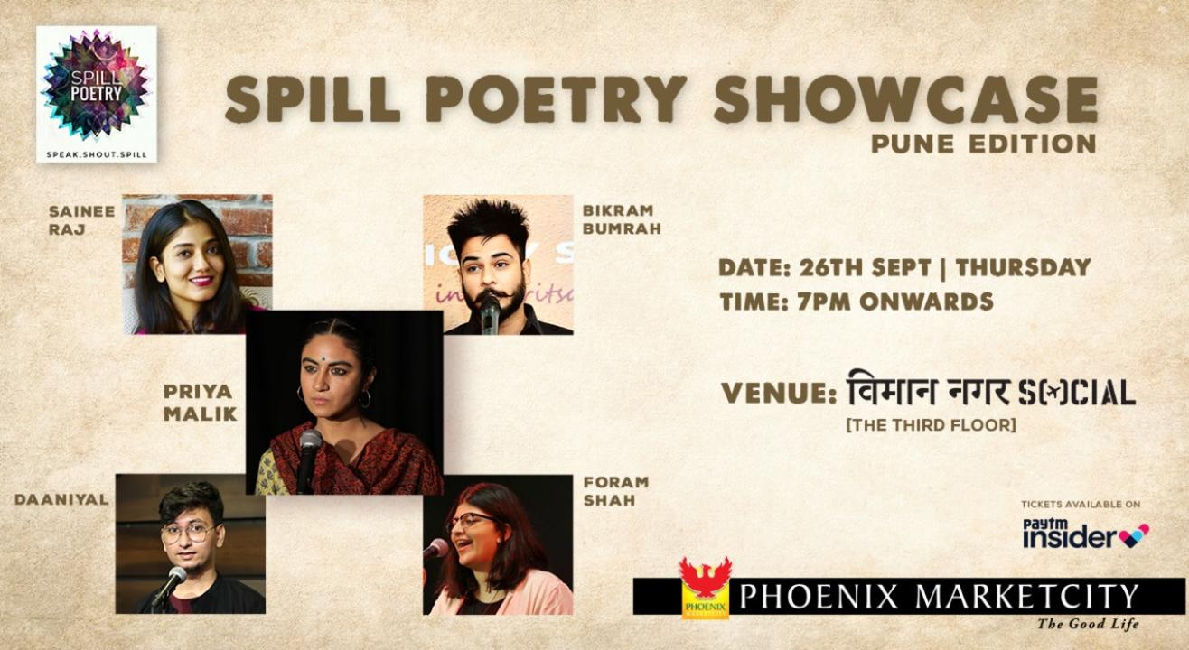 The Spill Poetry Showcase: Pune Edition
