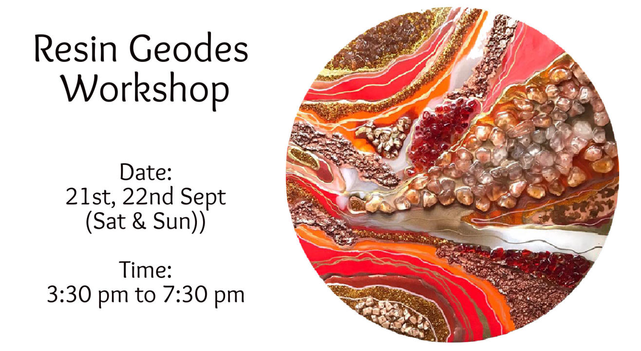 Resin Geodes Workshop