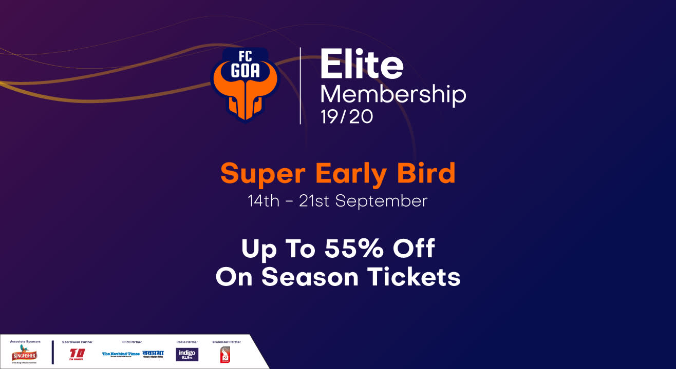 Indian Super League 2019-2020: FC Goa Match Tickets, Ticket Offers, Schedule & More