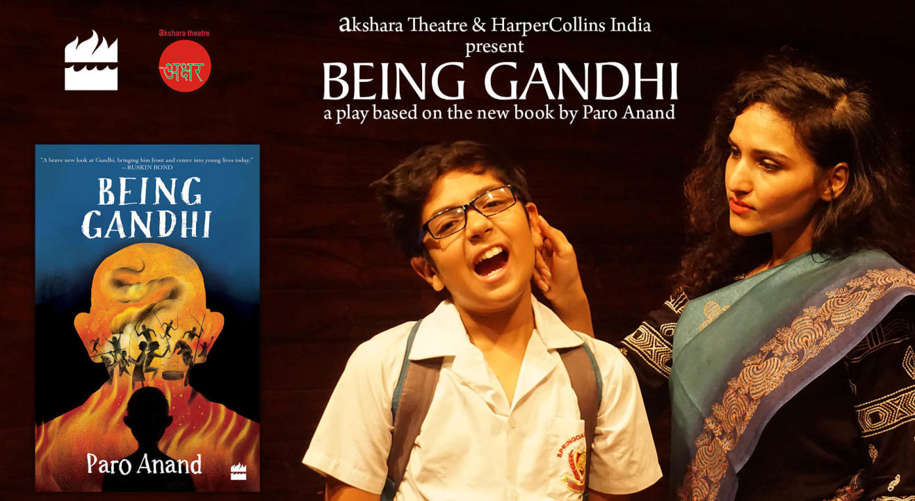 BEING GANDHI (a play in English)