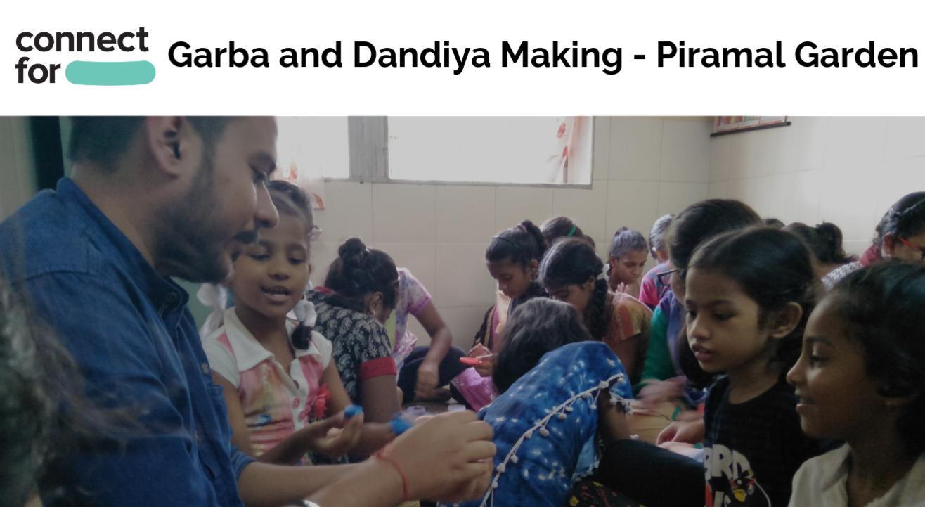 Garba and Dandiya Making with Kids