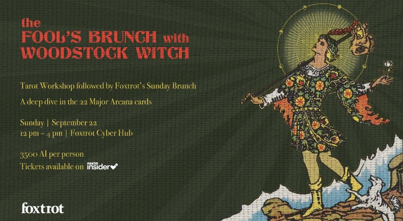 The Fool's Brunch with Woodstock Witch