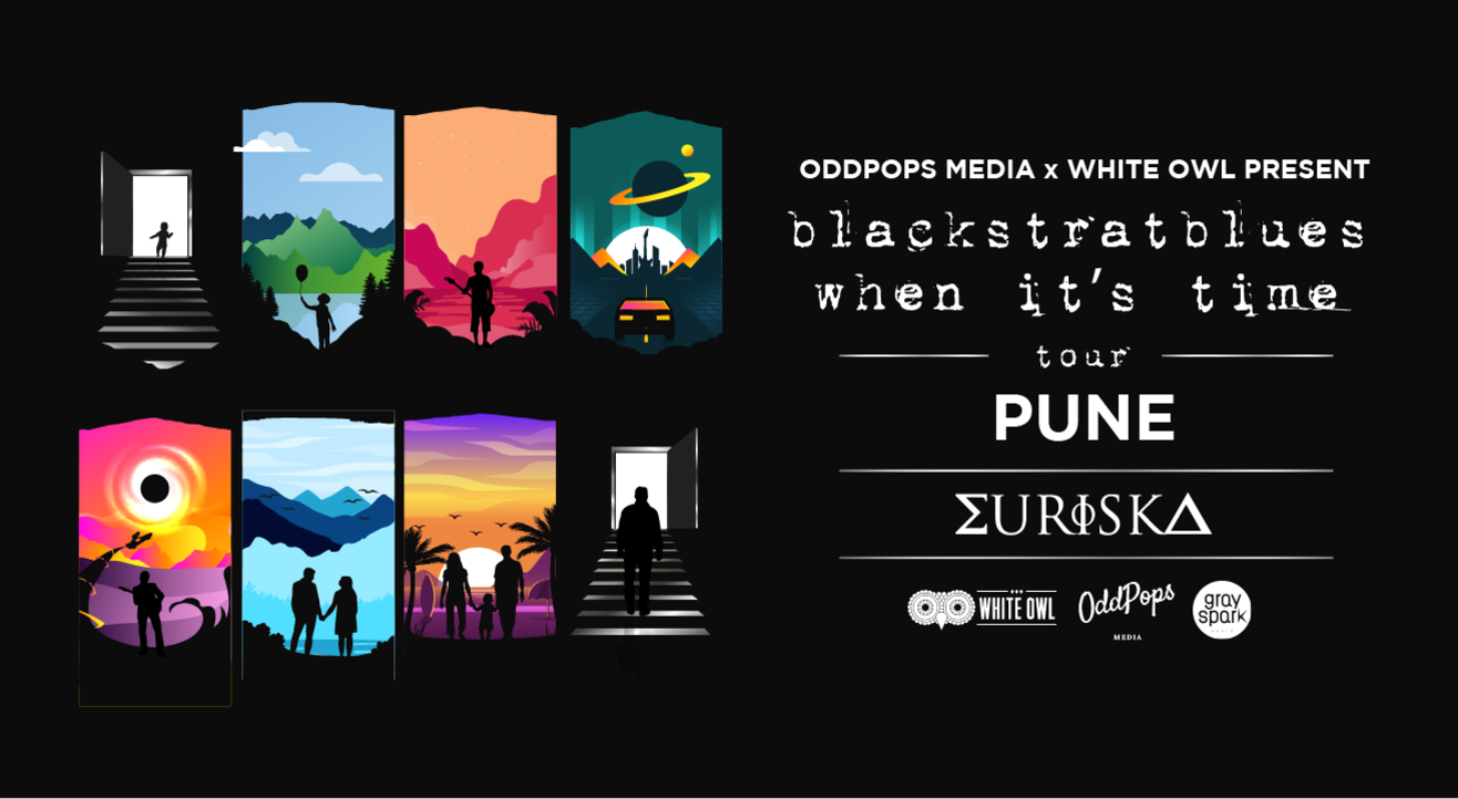OddPops Media x White Owl present Blackstratblues 'When It's Time' Album  Launch
