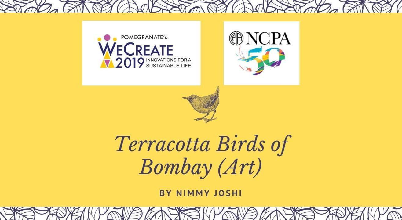 Terracotta Birds of Bombay (Art) by Nimmy Joshi