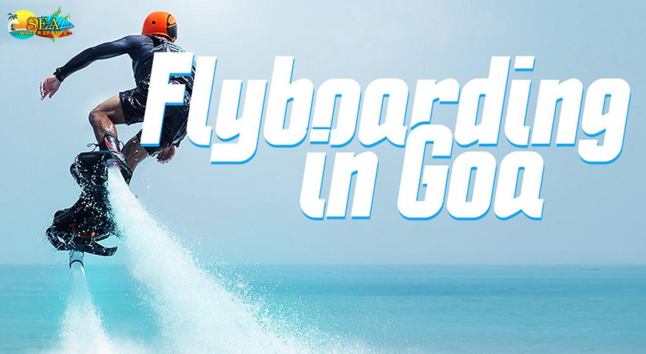 Fly Boarding In Goa By Sea Water Sports