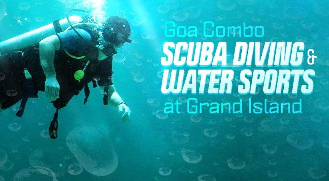 Scuba Diving + 5 Water Sports in Goa by Sea Water Sports