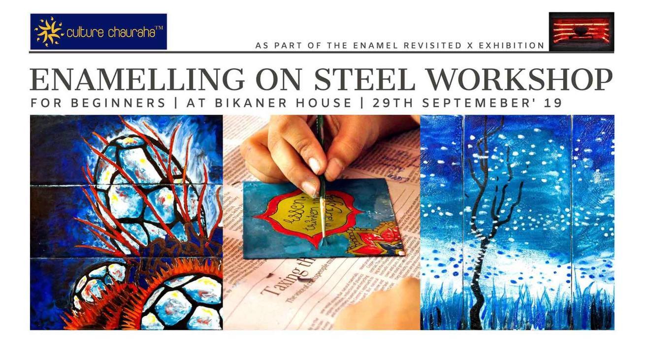 Enamelling on Steel Workshop