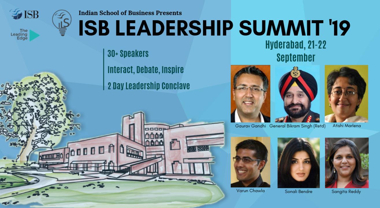 ISB Leadership Summit 2019