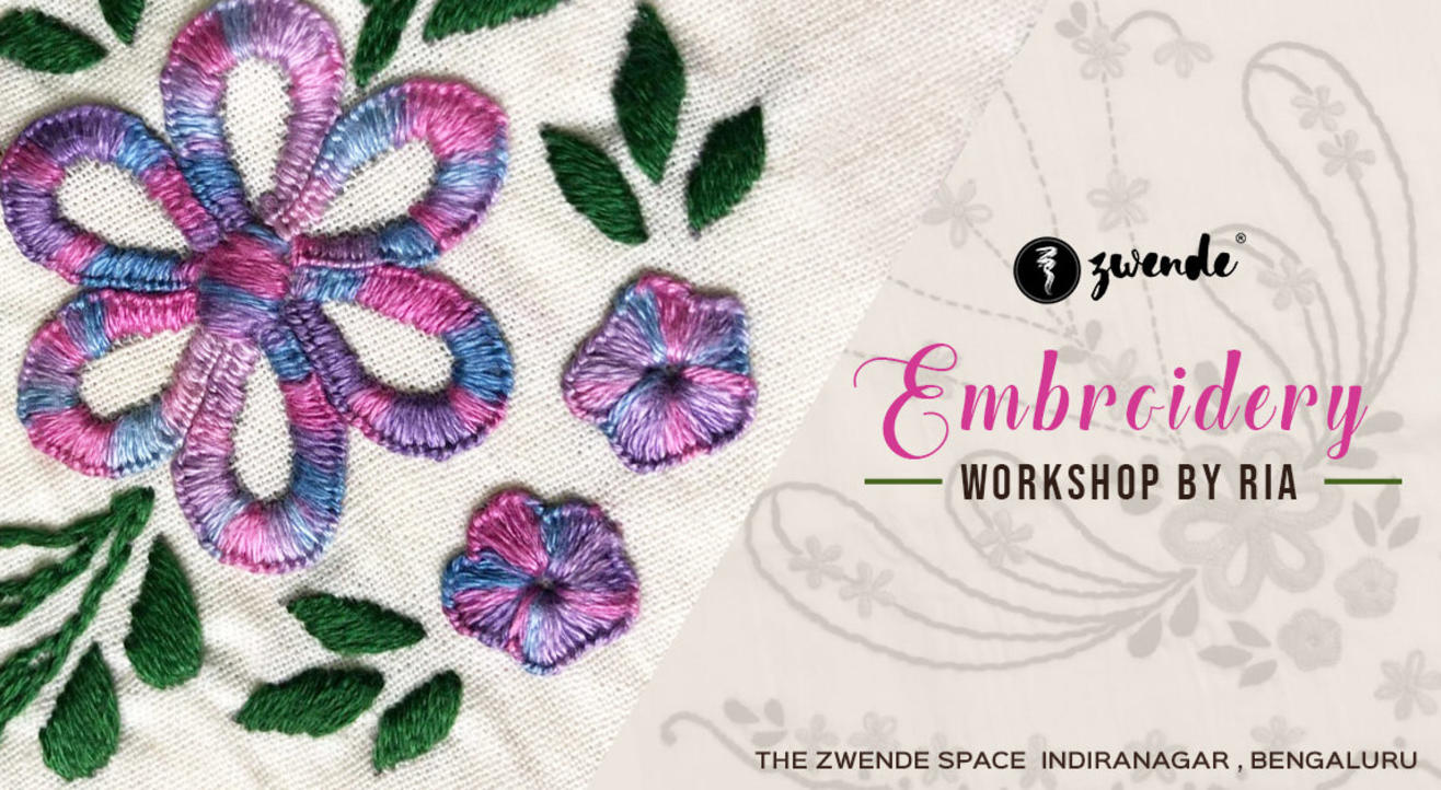 Embroidery Workshop by Ria Jain