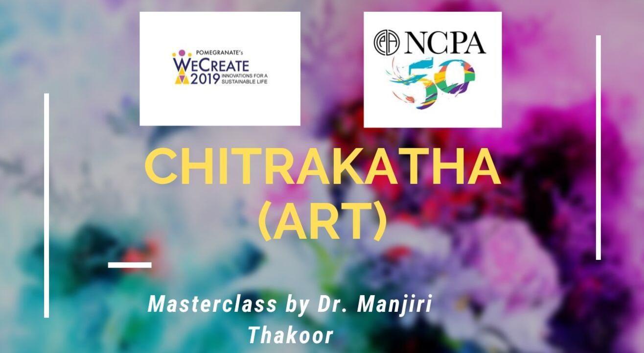 Chitrakatha (Art) masterclass by Dr. Manjiri Thakoor
