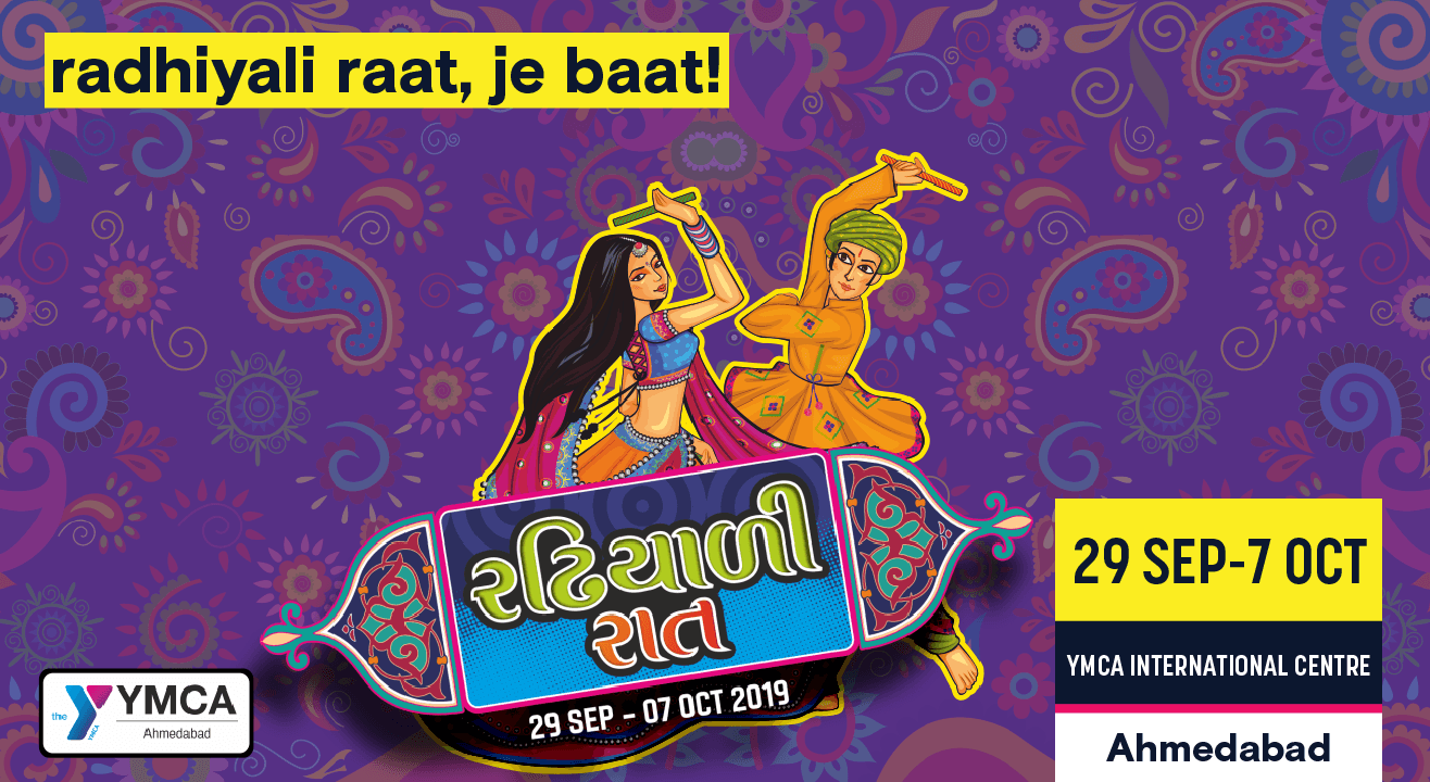 Radhiyali Raat is back in Ahmedabad!