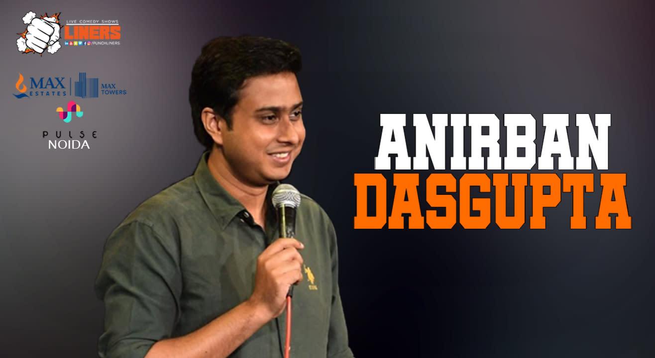 Punchliners Standup Comedy Show ft Anirban Dasgupta | Noida