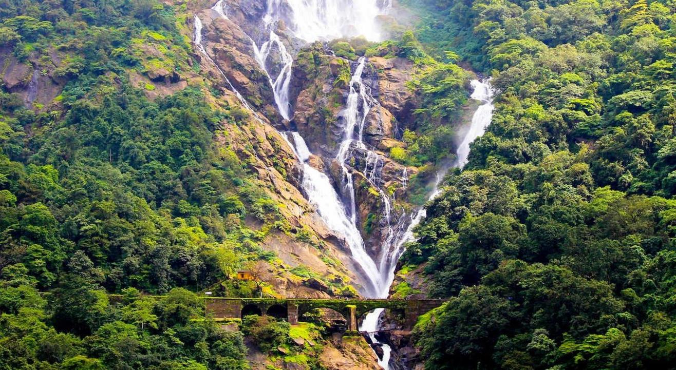Dudhsagar Waterfall Trip By Sea Water Sports