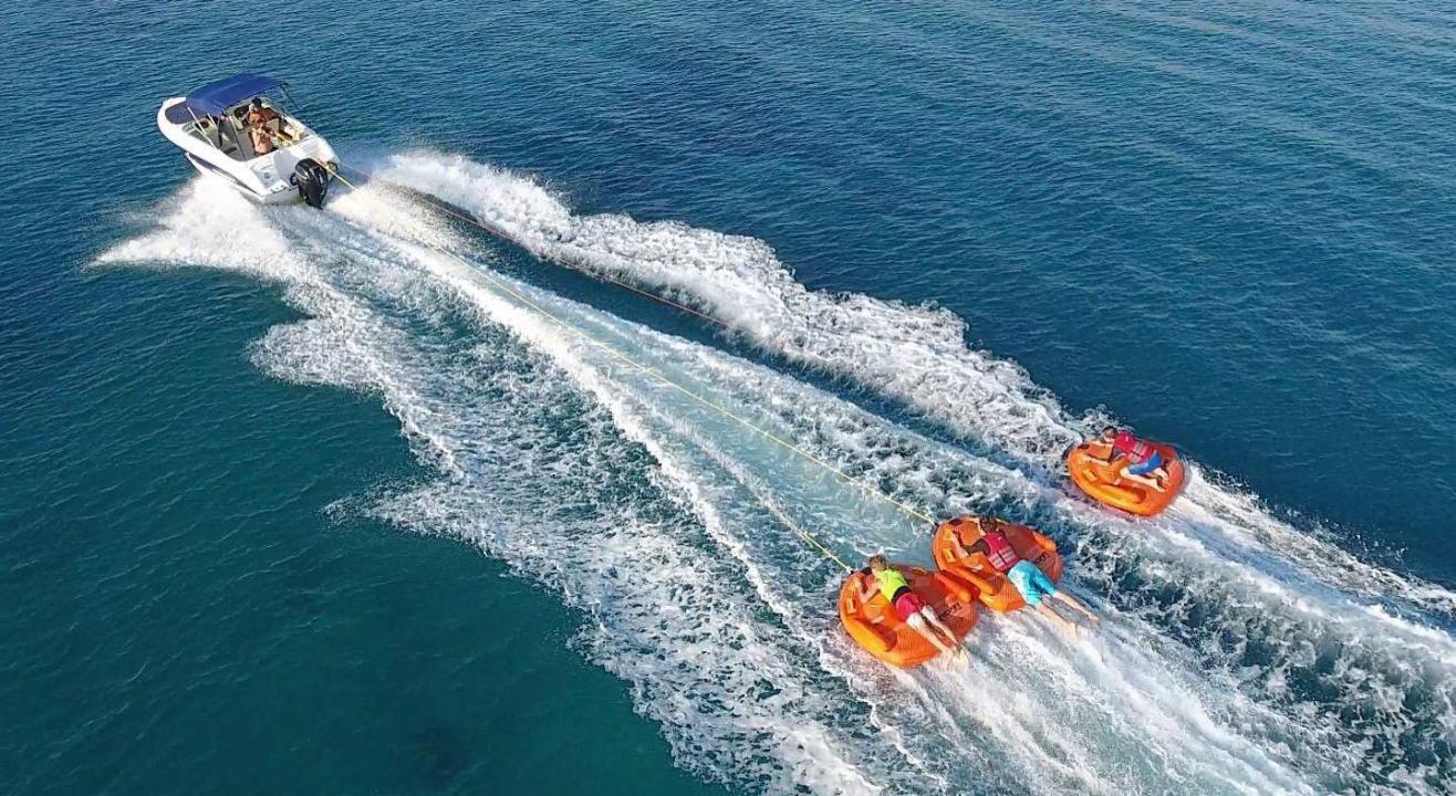 Water Sports In Diwar Island by Sea Water Sports