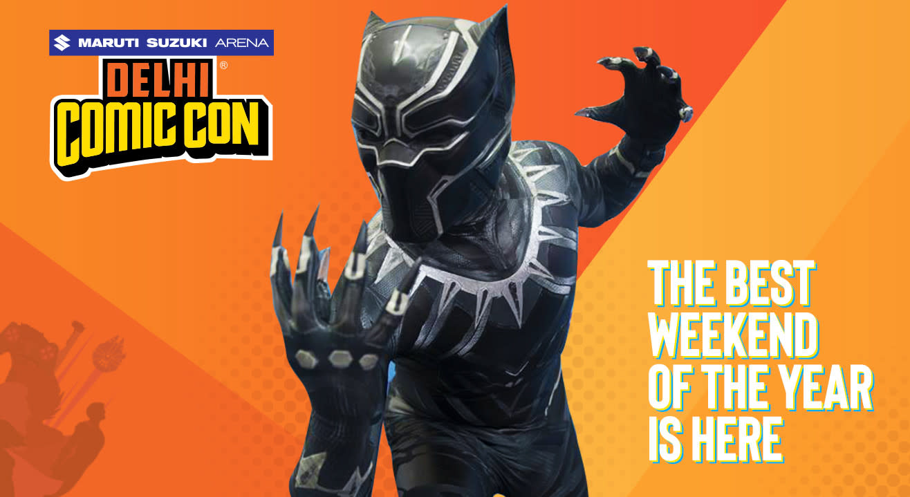 Maruti Suzuki Arena Delhi Comic Con 2019