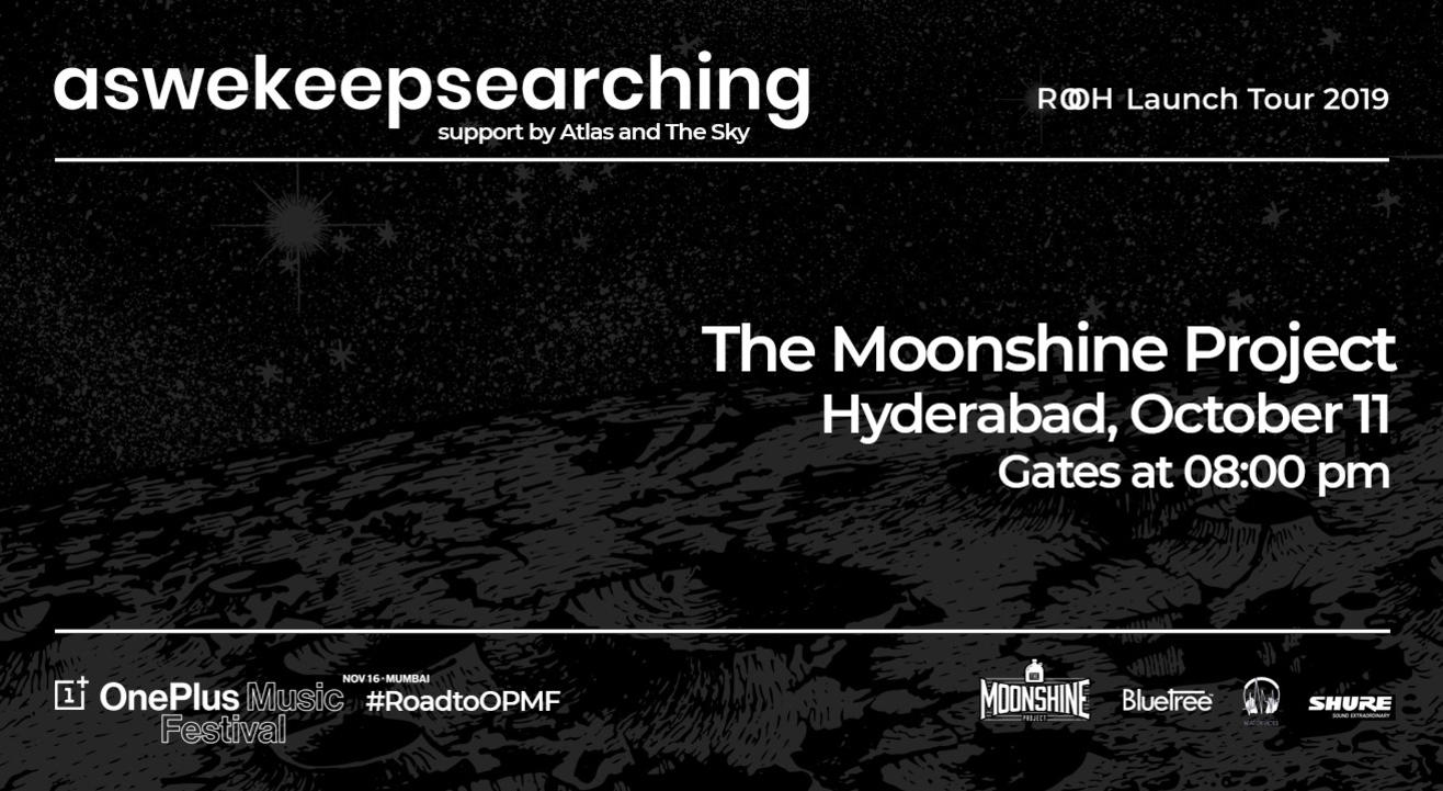 Aswekeepsearching 'Rooh' Launch Show | Hyderabad