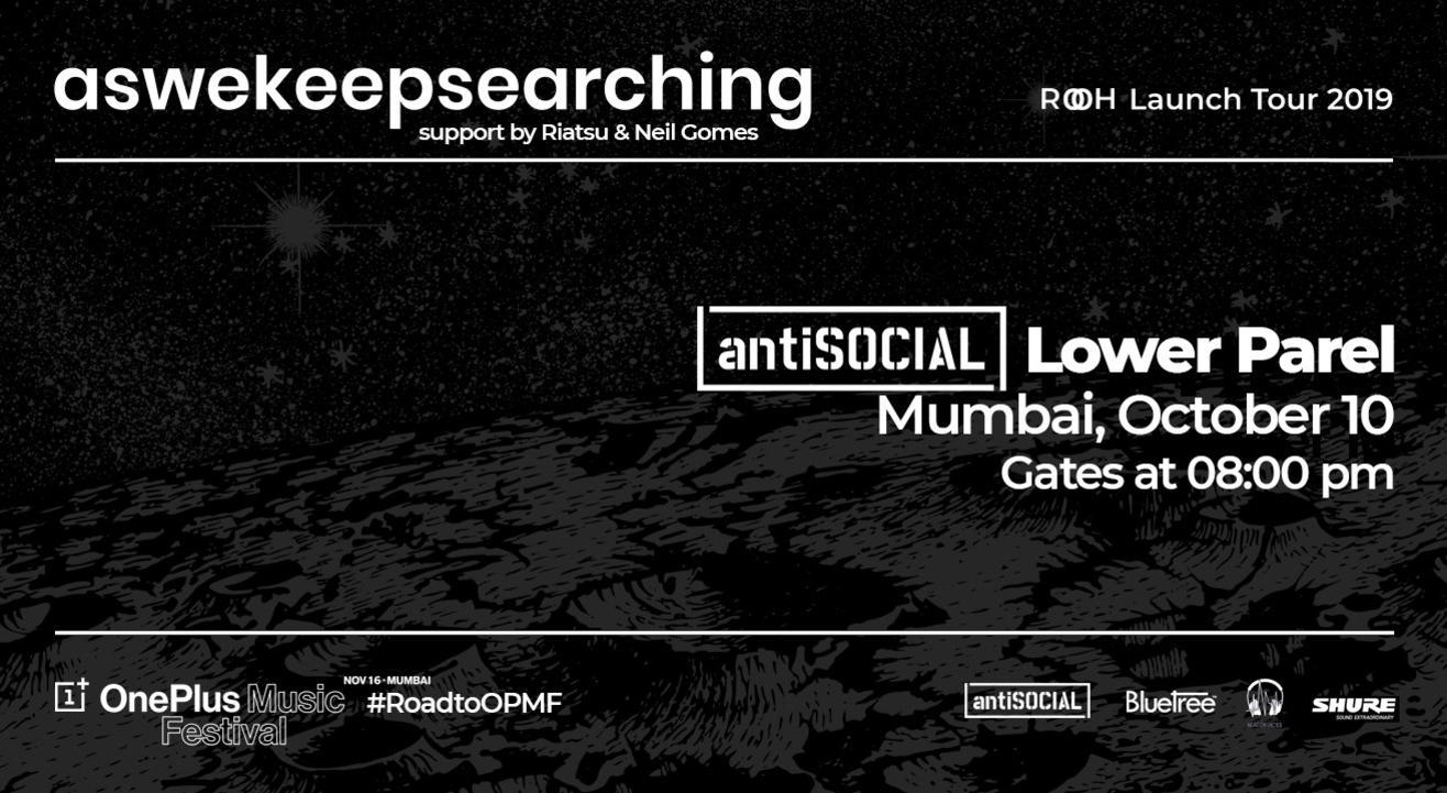 Aswekeepsearching 'Rooh' Launch Show | Mumbai