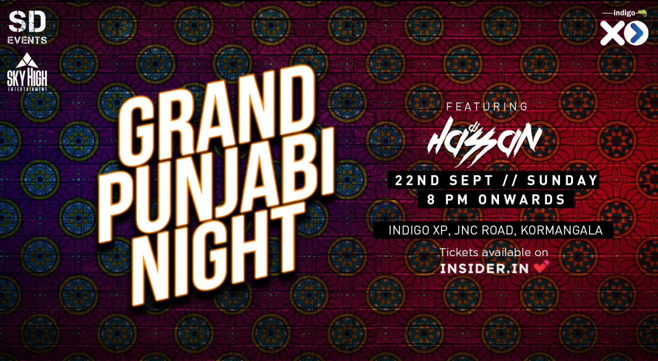 Grand Punjabi Night Ft. Dj Hassan