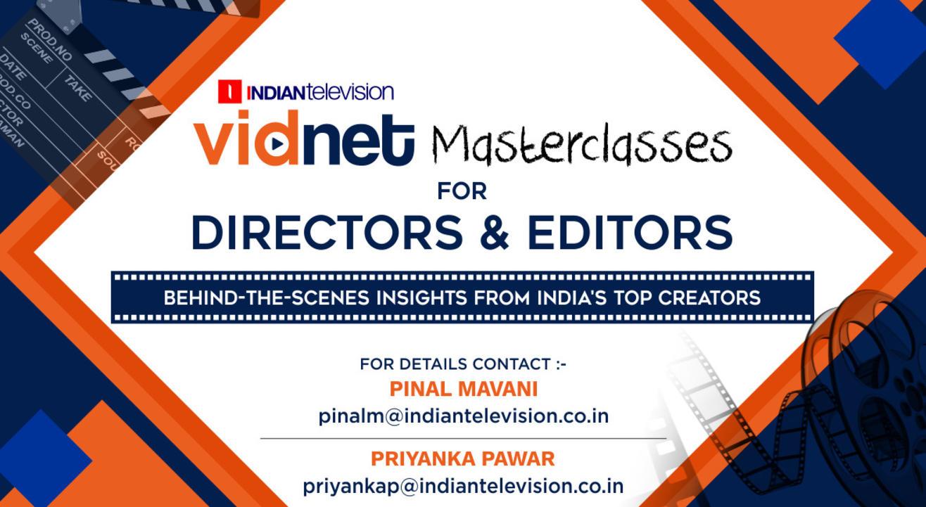 Vidnet Masterclasses for Directors & Editors