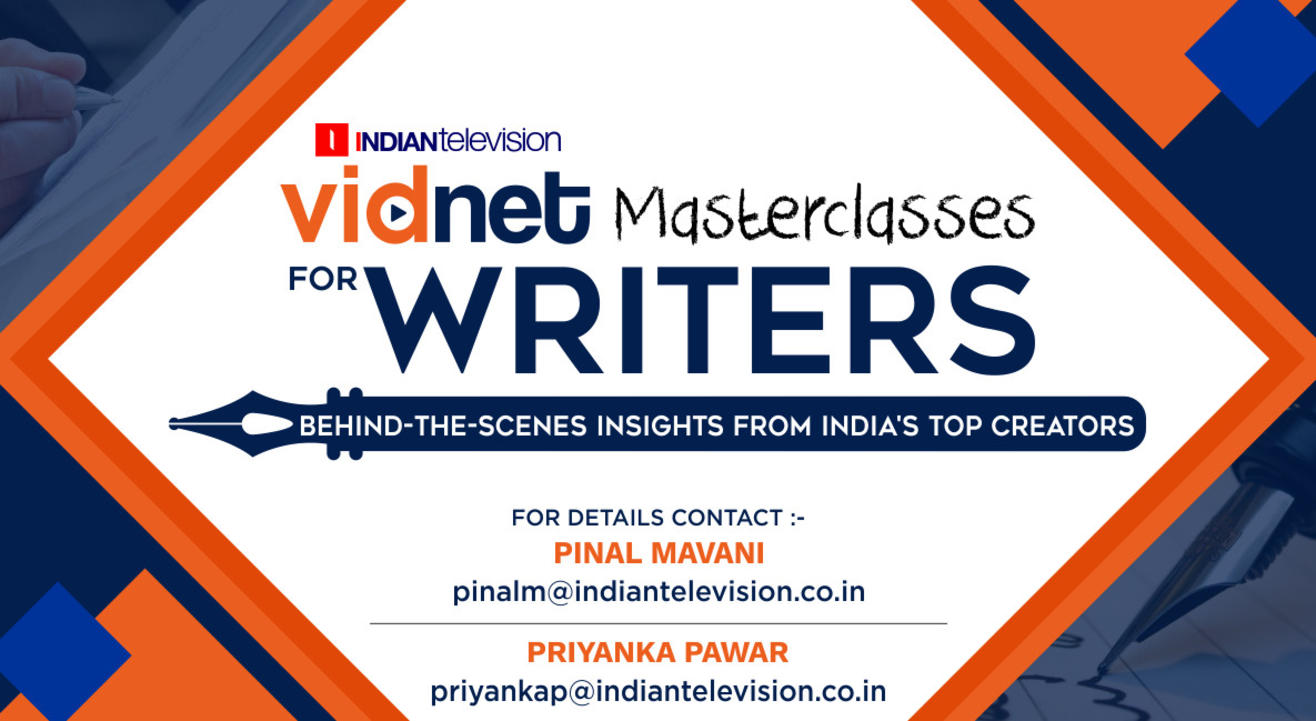 Vidnet Masterclasses for Writers