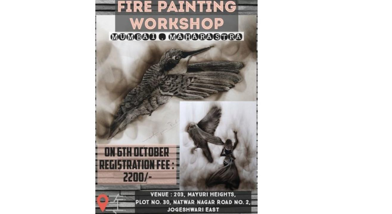 Fire Painting  Workshop