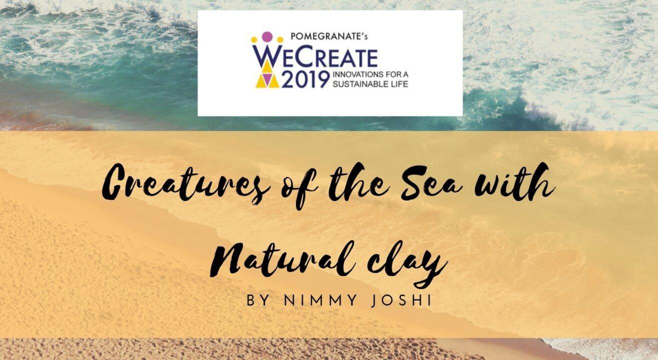 Creatures of the Sea with Natural clay