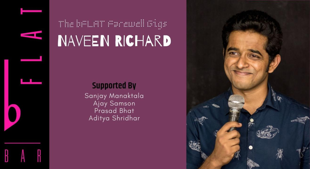 Naveen Richard - Live!
