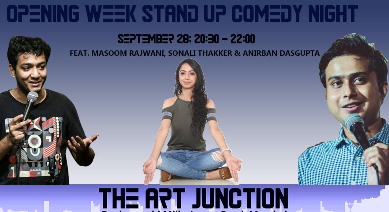 The Art Junction Opening Week Feat. Masoom, Sonali & Anirban