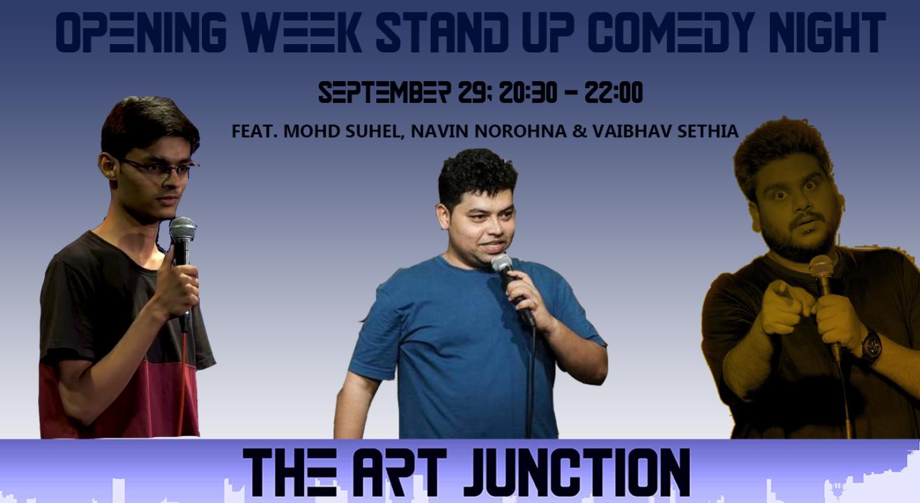 The Art Junction Opening Week Feat. Mohd. Suhel, Naveen Norohna and Vaibhav Sethia