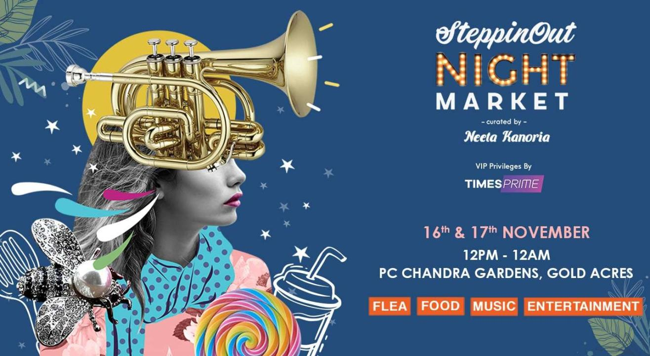 SteppinOut Night Market - Kolkata