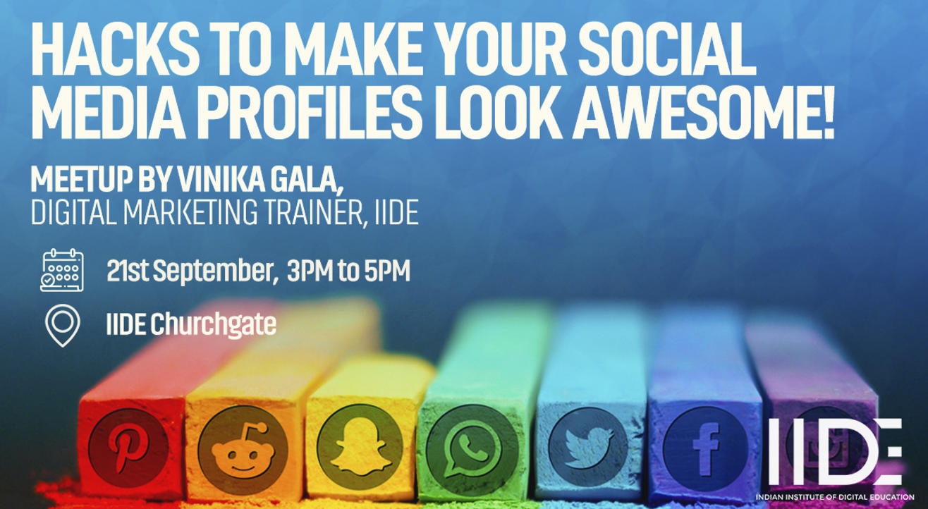 Hacks to make your social media profiles look awesome!