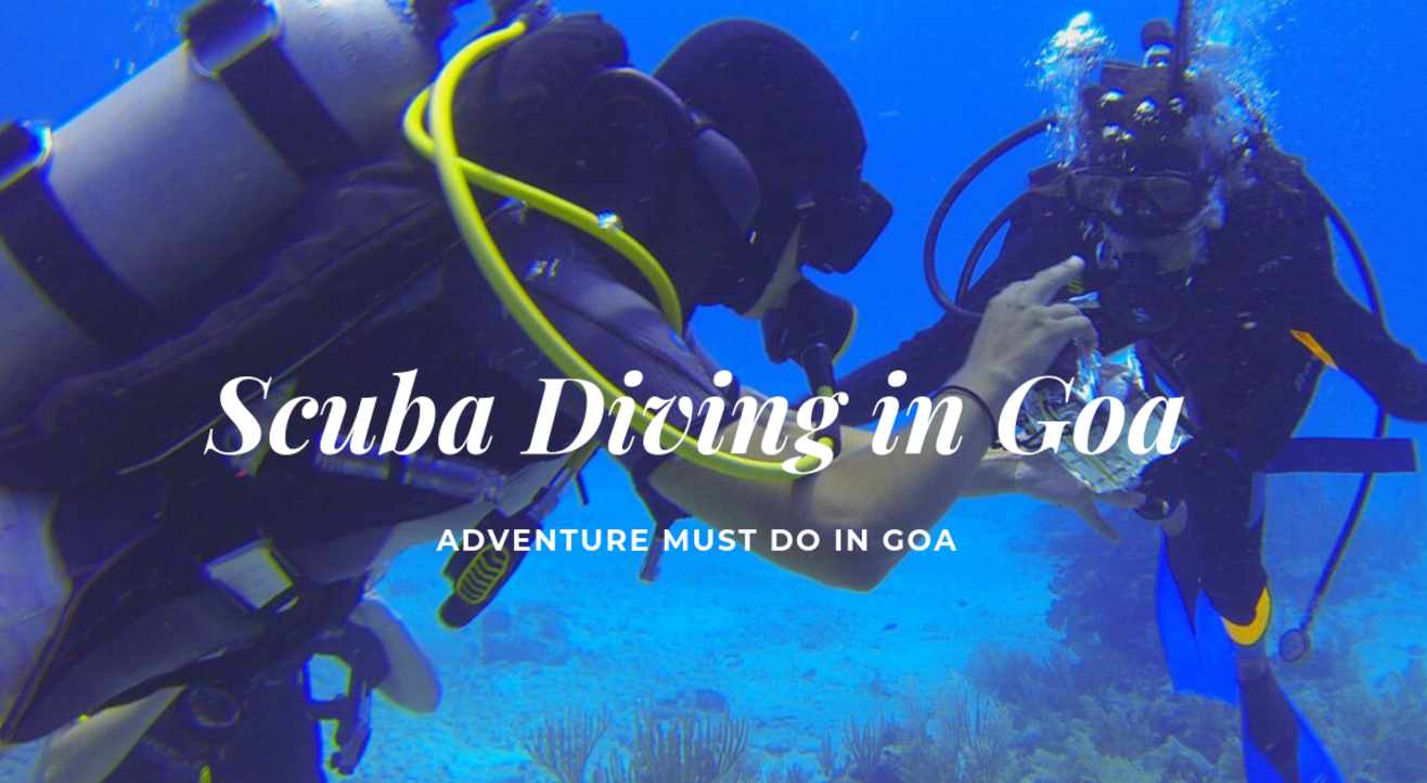 Scuba Diving in Goa at Paradise Island