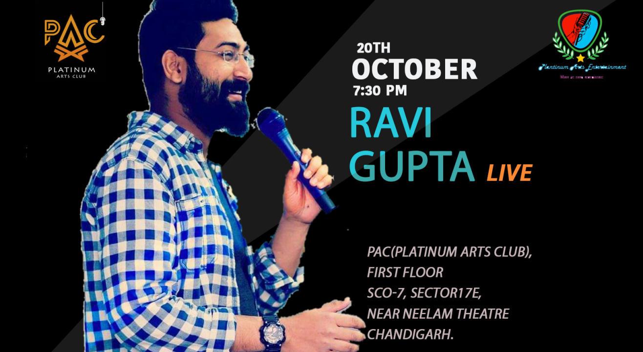Ravi Gupta Live