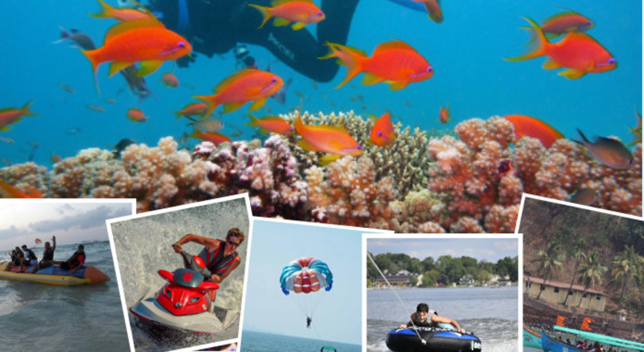 Scuba Diving and Watersports in South Goa