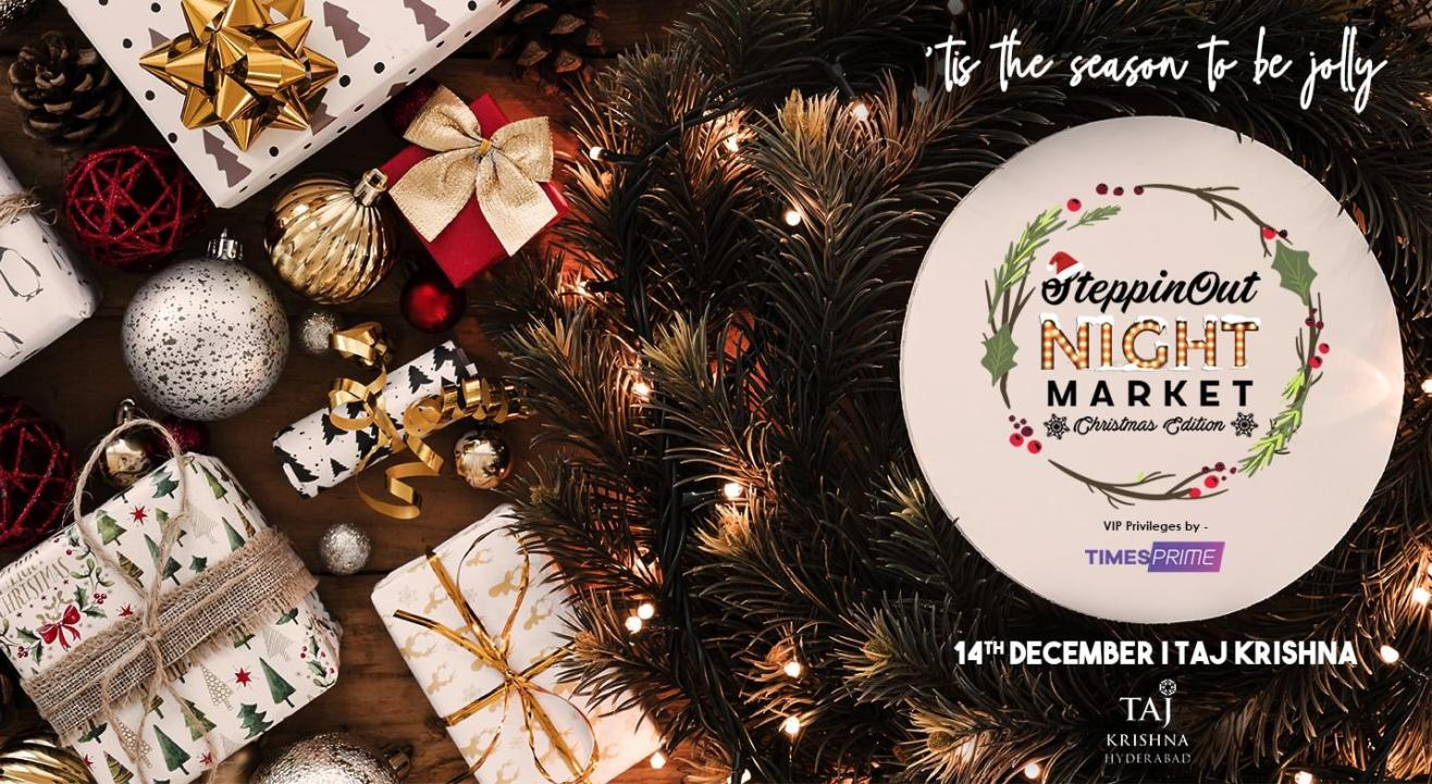 Times Prime: SteppinOut Night Market - Christmas Edition, Hyderabad