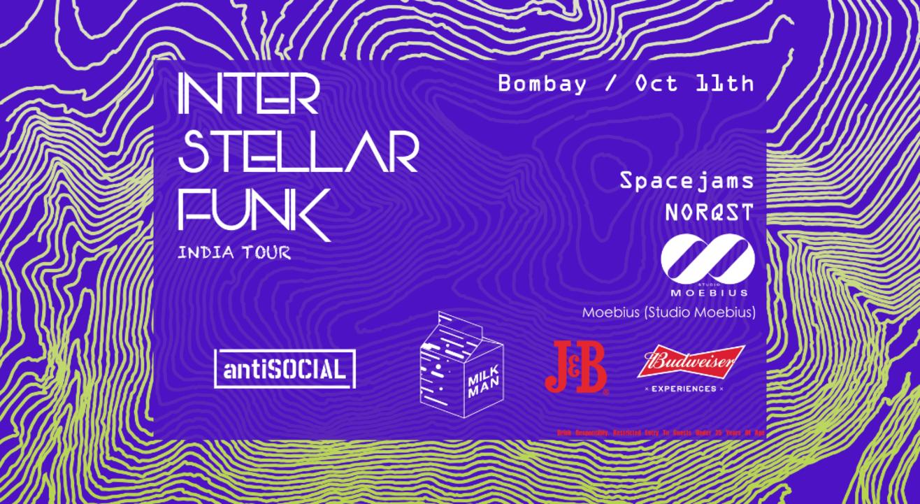Milkman Presents: Interstellar Funk | antiSOCIAL Mumbai