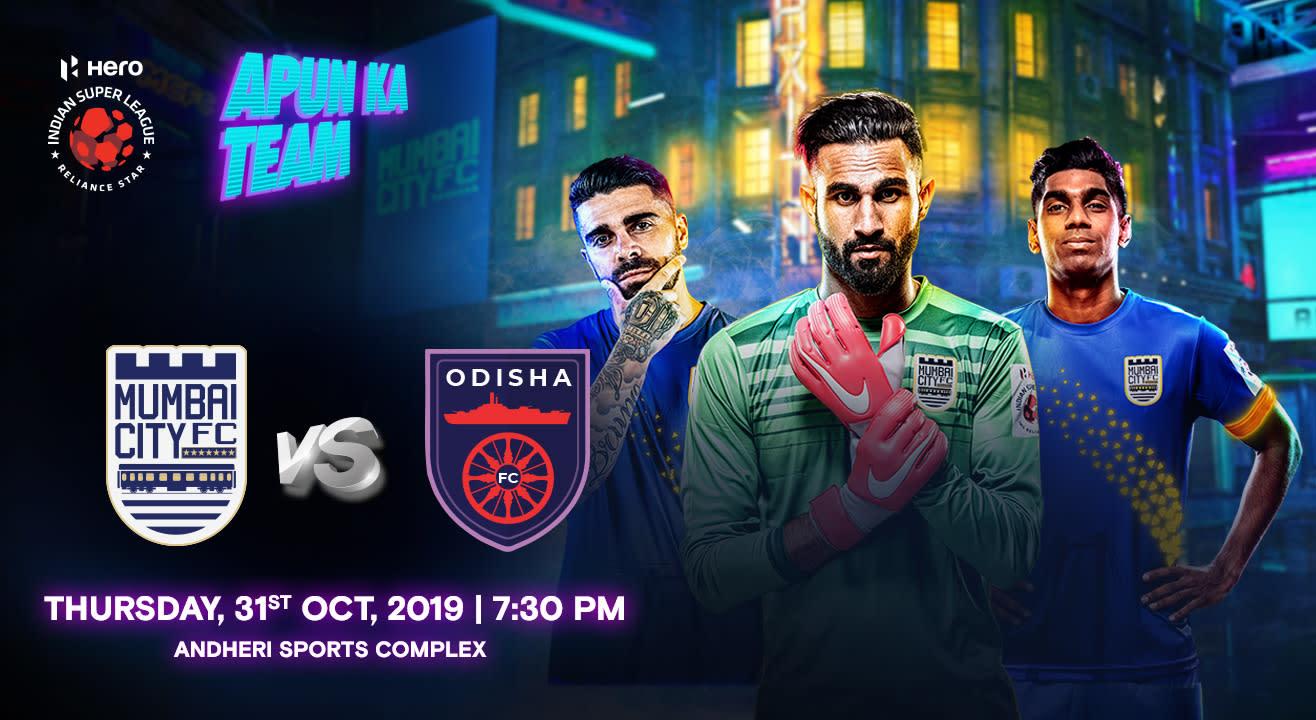 Hero Indian Super League 2019-20: Mumbai City FC vs Odisha FC